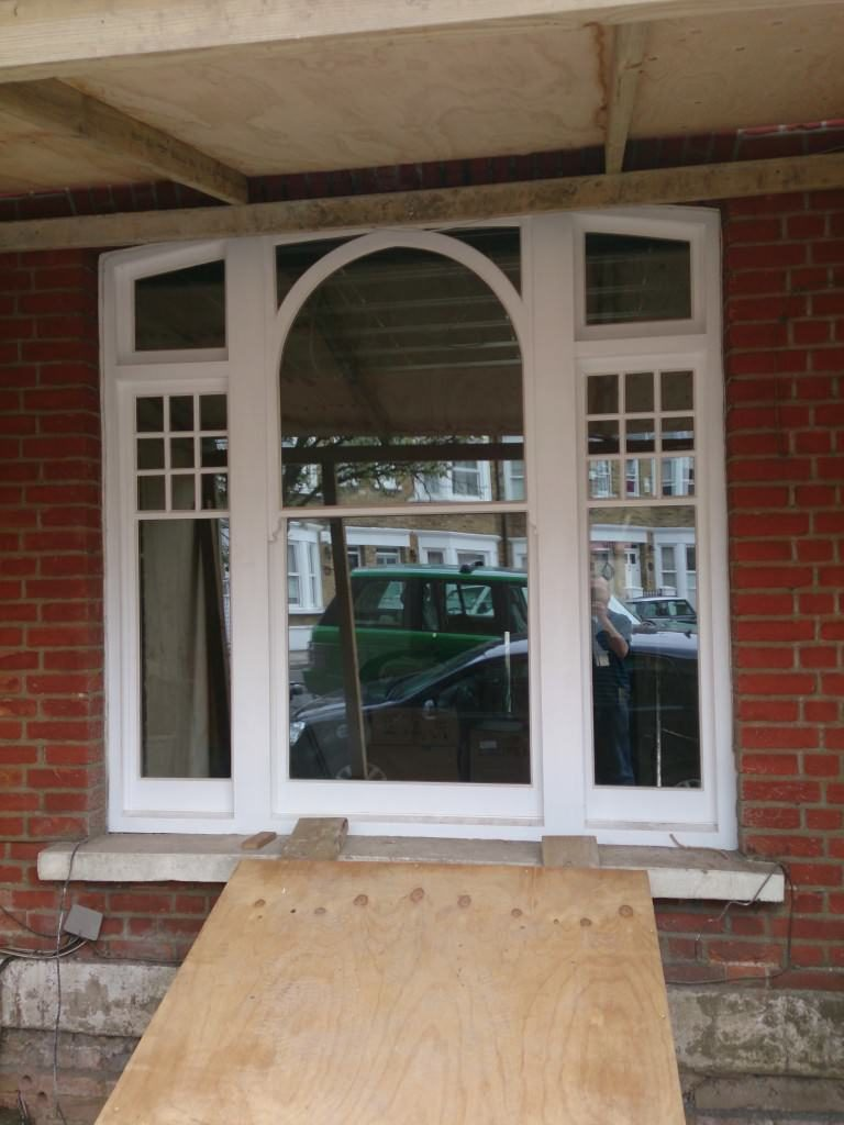 Finely Detailed Sash Windows