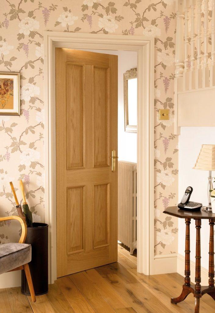 4 Panel Oak Door