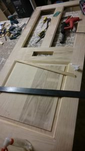 A door in the making