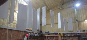 Shutter Panels Drying